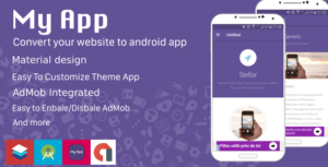 1527822325 website to android app material design 300x153 - تبدیل وب سایت به اپلیکیشن اندروید با طراحی متریال دیزاین