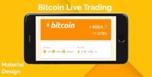 اسکریپت نمایش زنده نرخ Bitcoin
