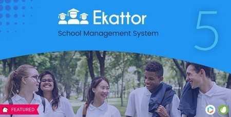 اسکریپت مدیریت مدارس Ekattor نسخه 5.4