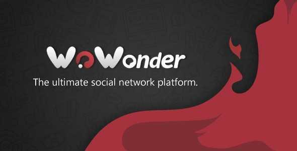 دانلود نسخه Ultimate اسکریپت شبکه اجتماعی WoWonder ورژن v2.0.3.1