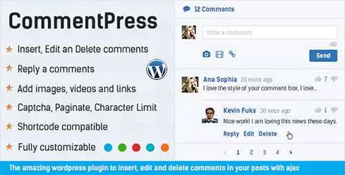 افزونه مدیریت و شخصیسازی نظرات وردپرس CommentPress