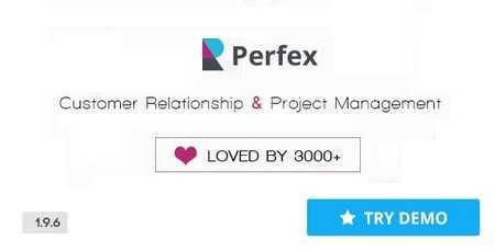 perfex - اسکریپت مدیریت ارتباط با مشتری Perfex نسخه 2.3.3