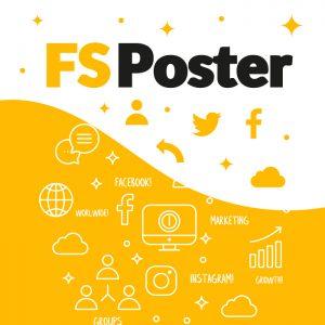 افزونه فارسی FS Poster اشتراک گذاری خودکار در شبکه های اجتماعی نسخه ۳/۵/۸