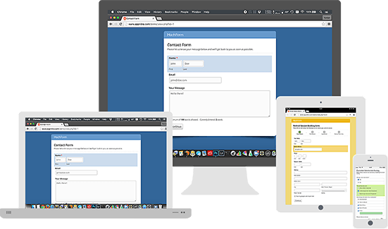machform responsive forms kamyabscript - اسکریپت MachForm ویرایشگر آنلاین برای ایجاد فرم های وب نسخه ۱۳/۰