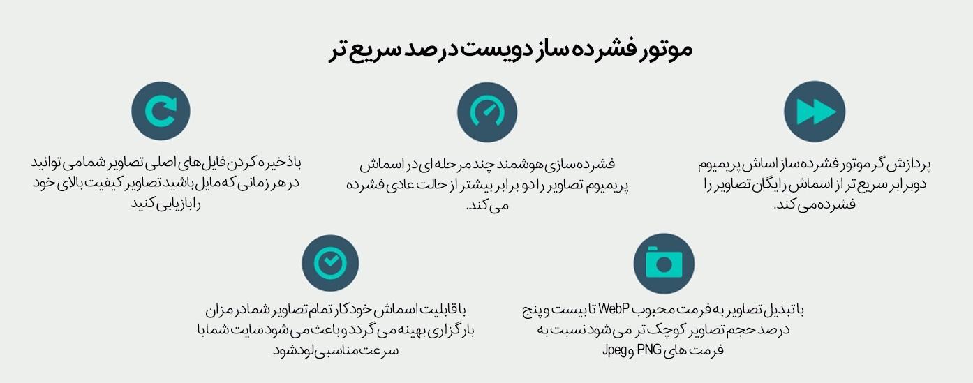 Smush Pro 02 Kamyab Script.ir  - افزونه فشرده سازی تصاویر WP Smush Pro فارسی