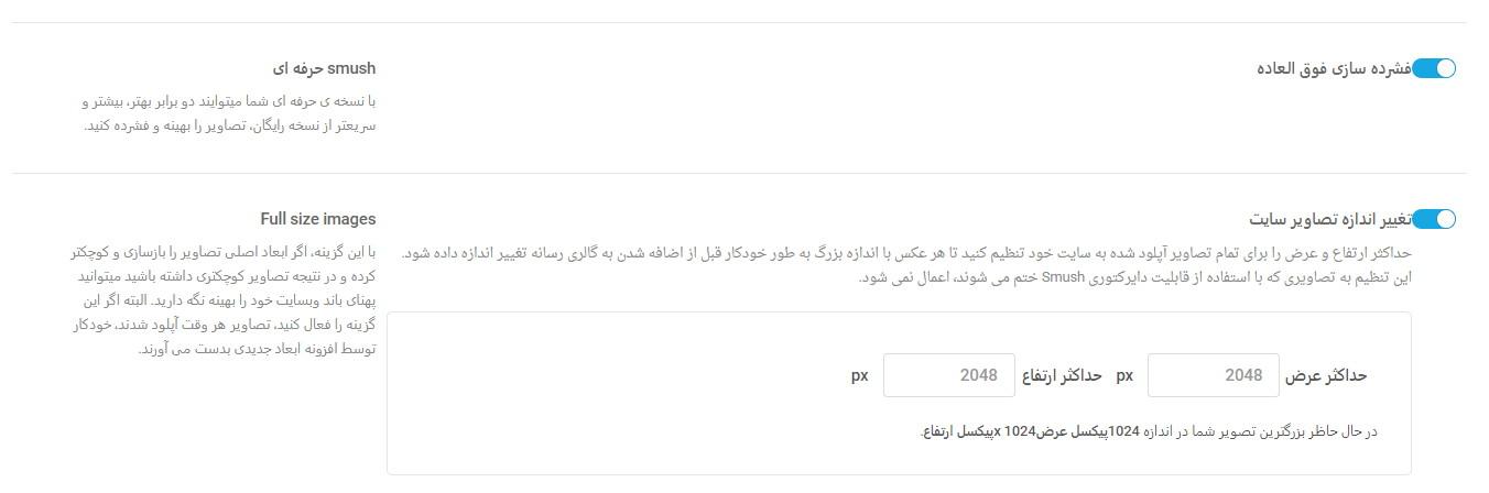 Smush Pro 05 Kamyab Script.ir  - افزونه فشرده سازی تصاویر WP Smush Pro فارسی